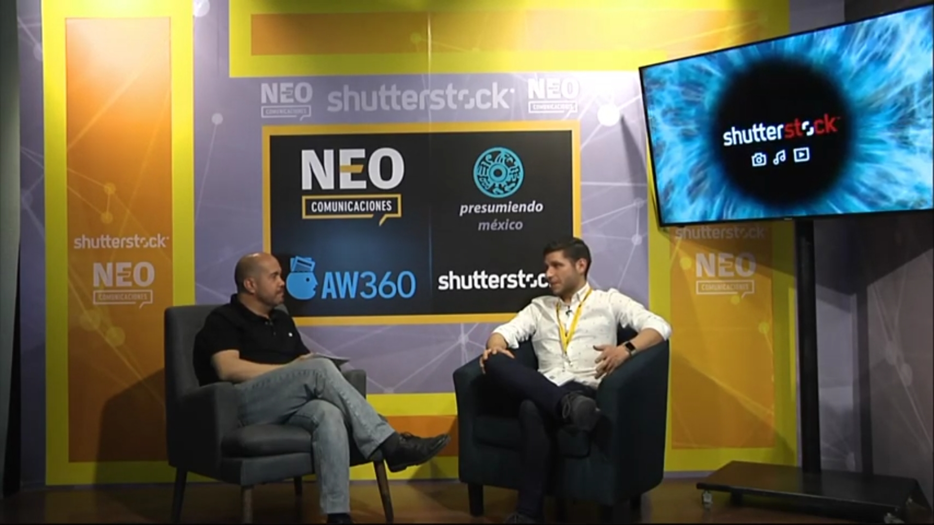 Aldo Tabe en entrevista con NEO Marketing Talk en Advertising Week 2020