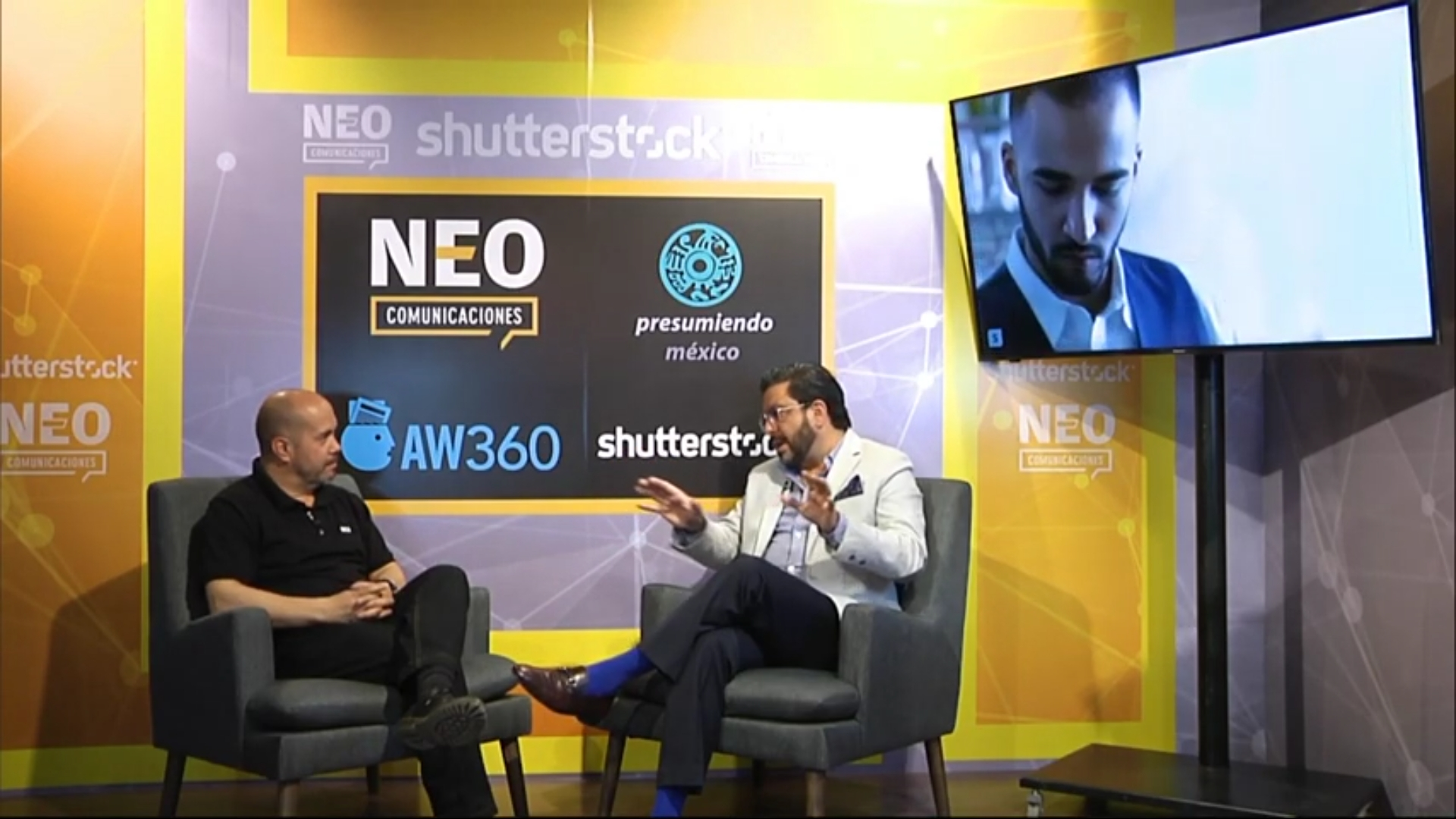 Carlos Pereyra en entrevista con NEO Marketing Talk en Advertising Week 2020