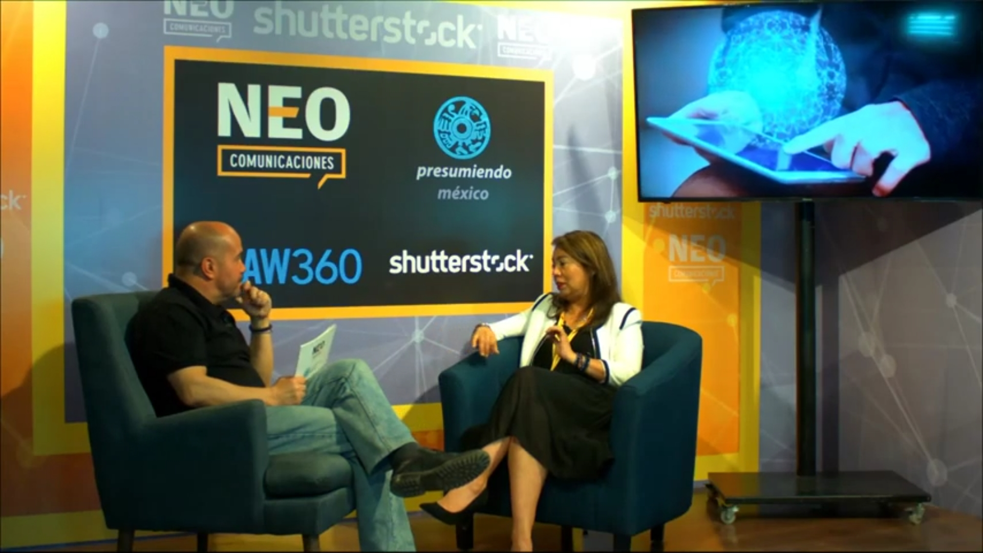 Abigail Mendez en entrevista con NEO Marketing Talk en Advertising Week 2020