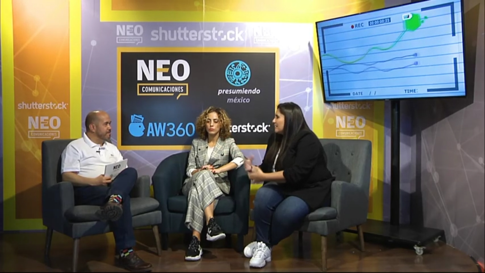 Amanda Berenstein y Mariana Sanz en entrevista con NEO Marketing Talk en Advertising Week 2020