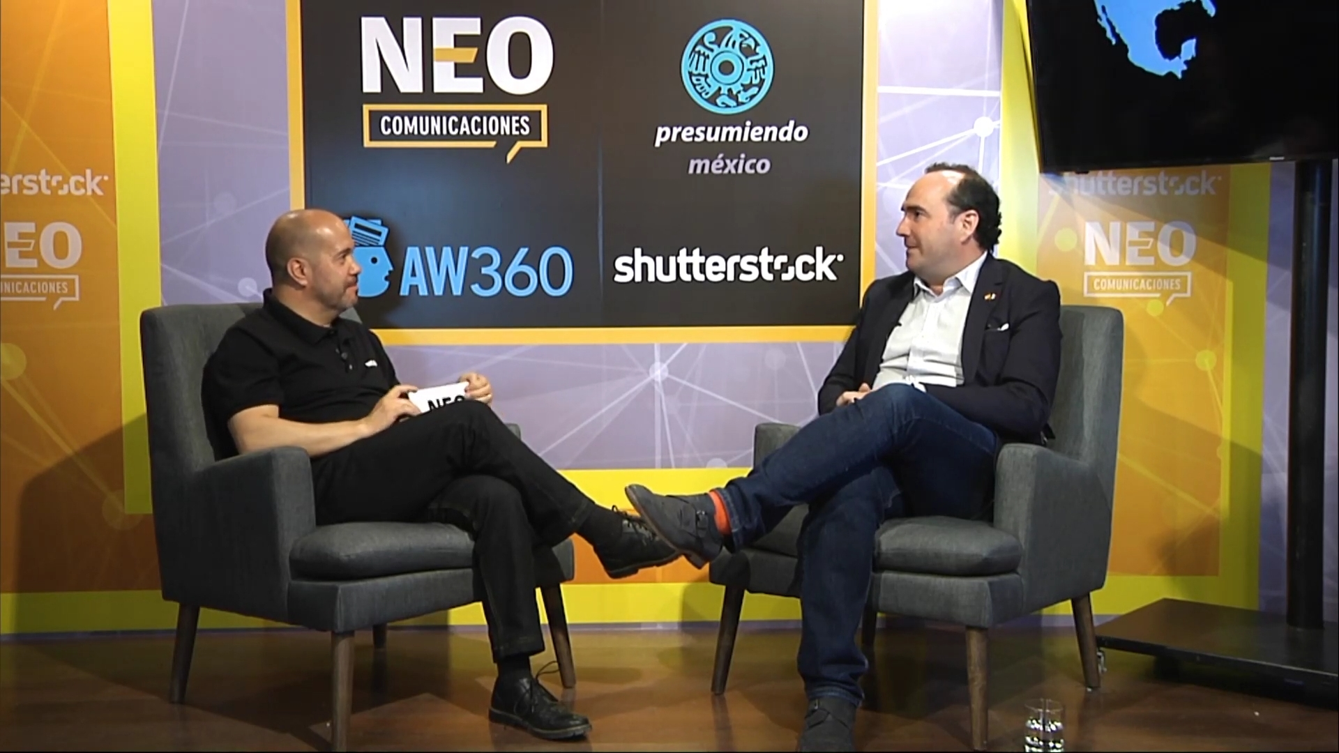 Andres Azpilicueta en entrevista con NEO Marketing Talk en Advertising Week 2020