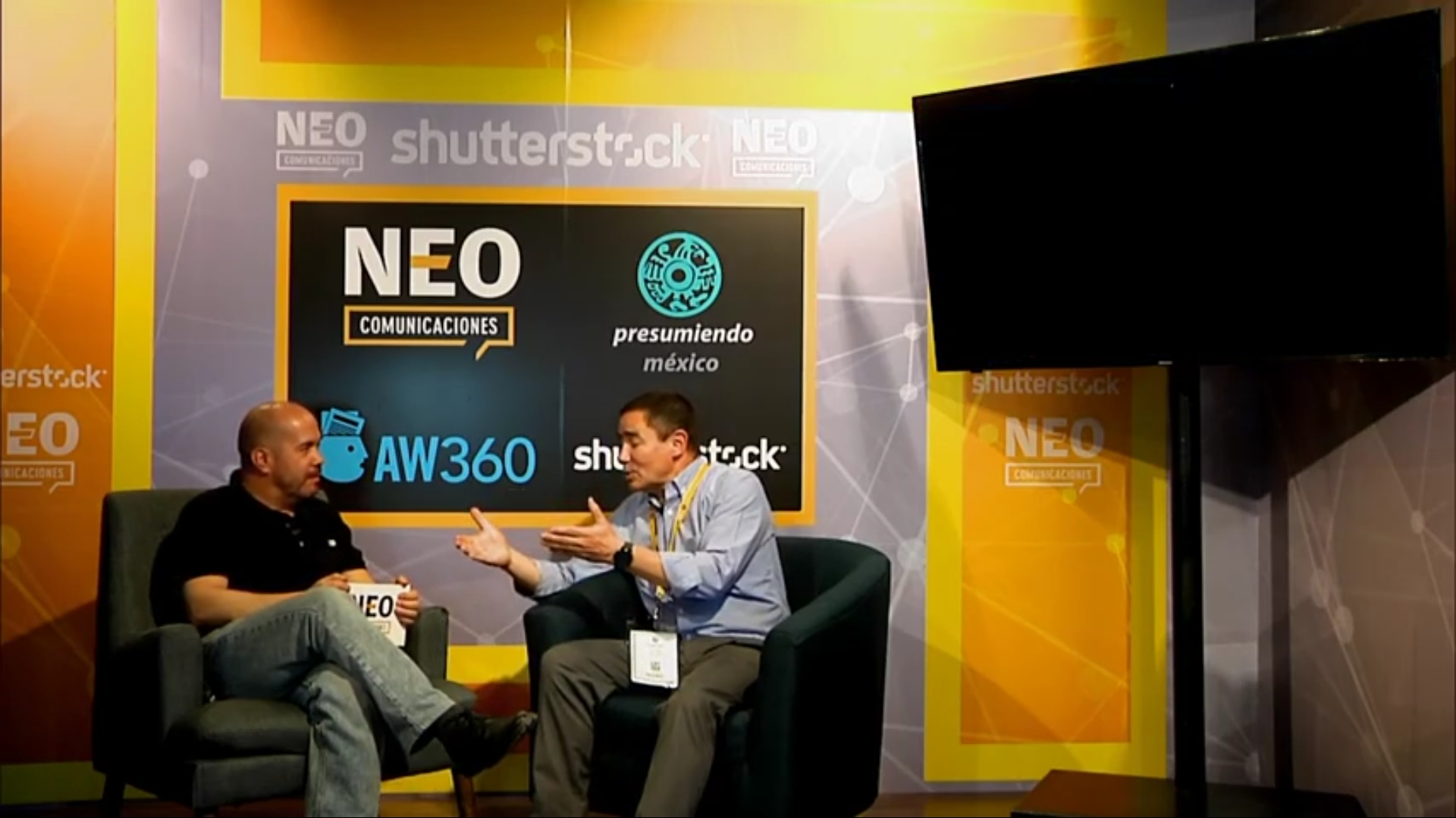 Carlos de Zuñiga en entrevista con NEO Marketing Talk en Advertising Week 2020
