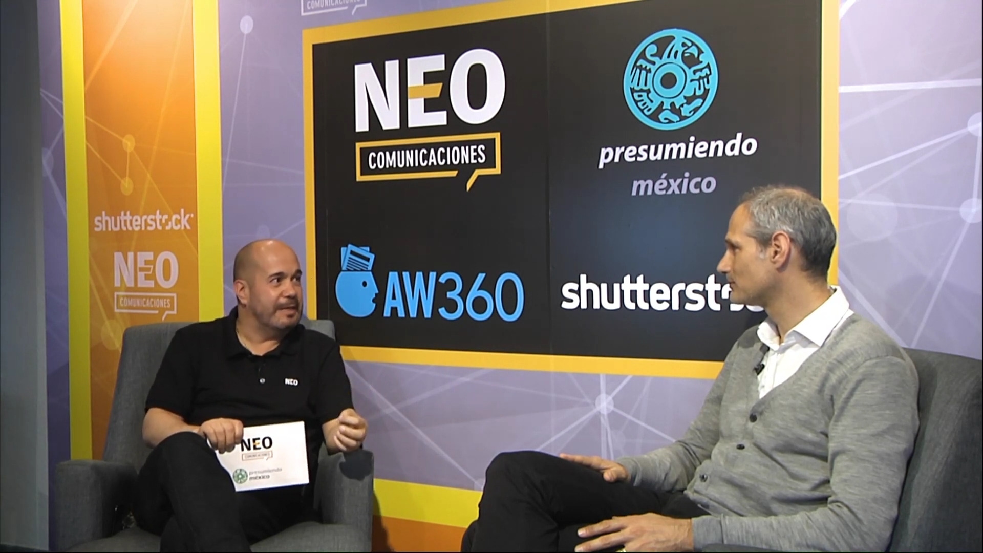 Dario Okrent en entrevista con NEO Marketing Talk en Advertising Week 2020