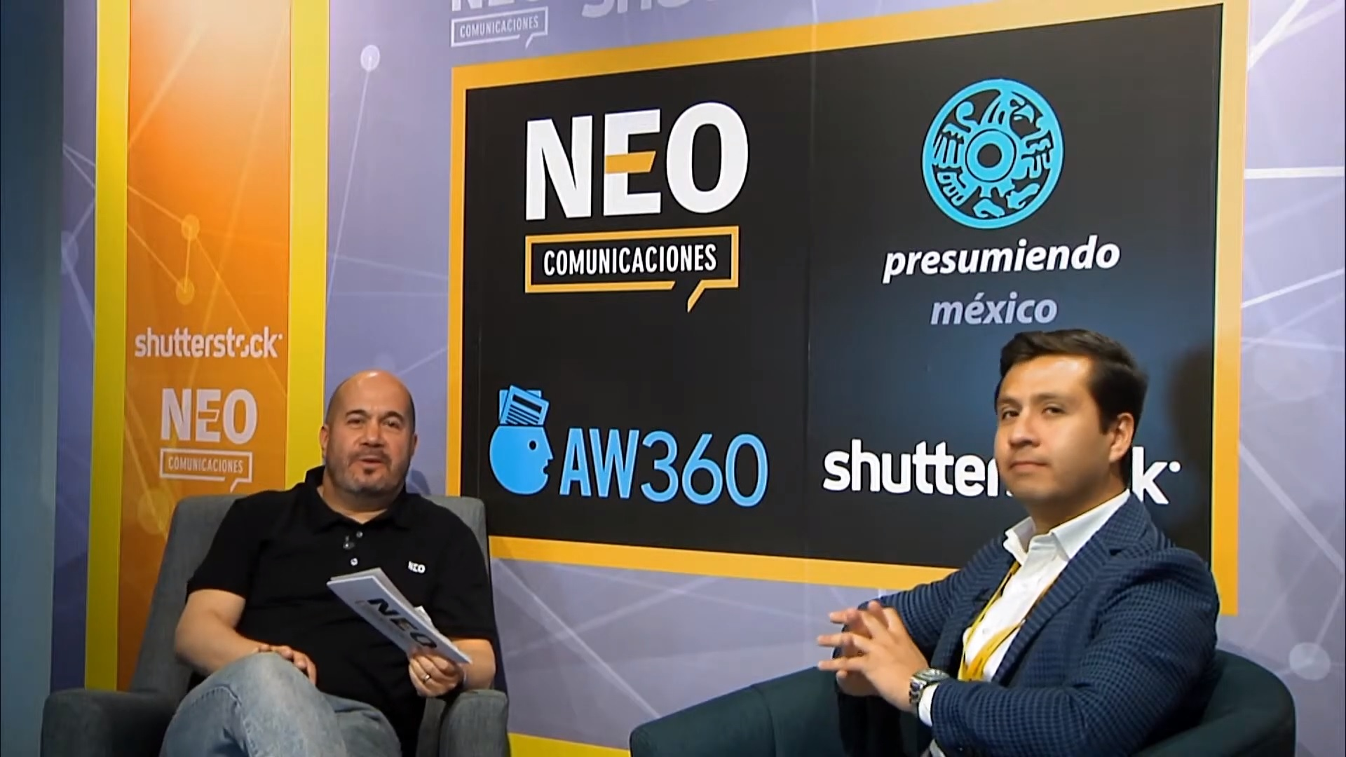 Diego Plaza en entrevista con NEO Marketing Talk en Advertising Week 2020