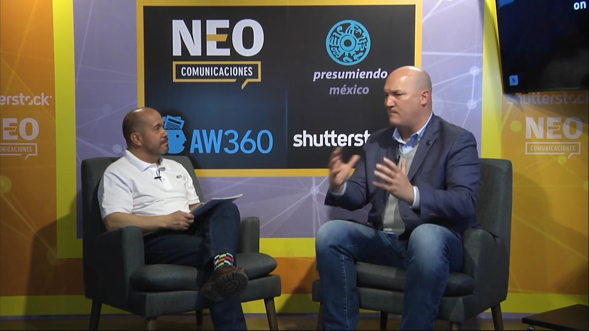 Douglas Rowell en entrevista con NEO Marketing Talk en Advertising Week 2020