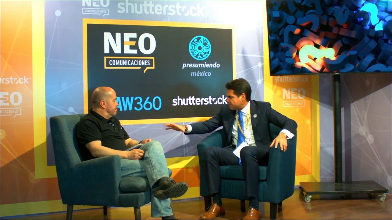 Eduardo Peniche en entrevista con NEO Marketing Talk en Advertising Week 2020