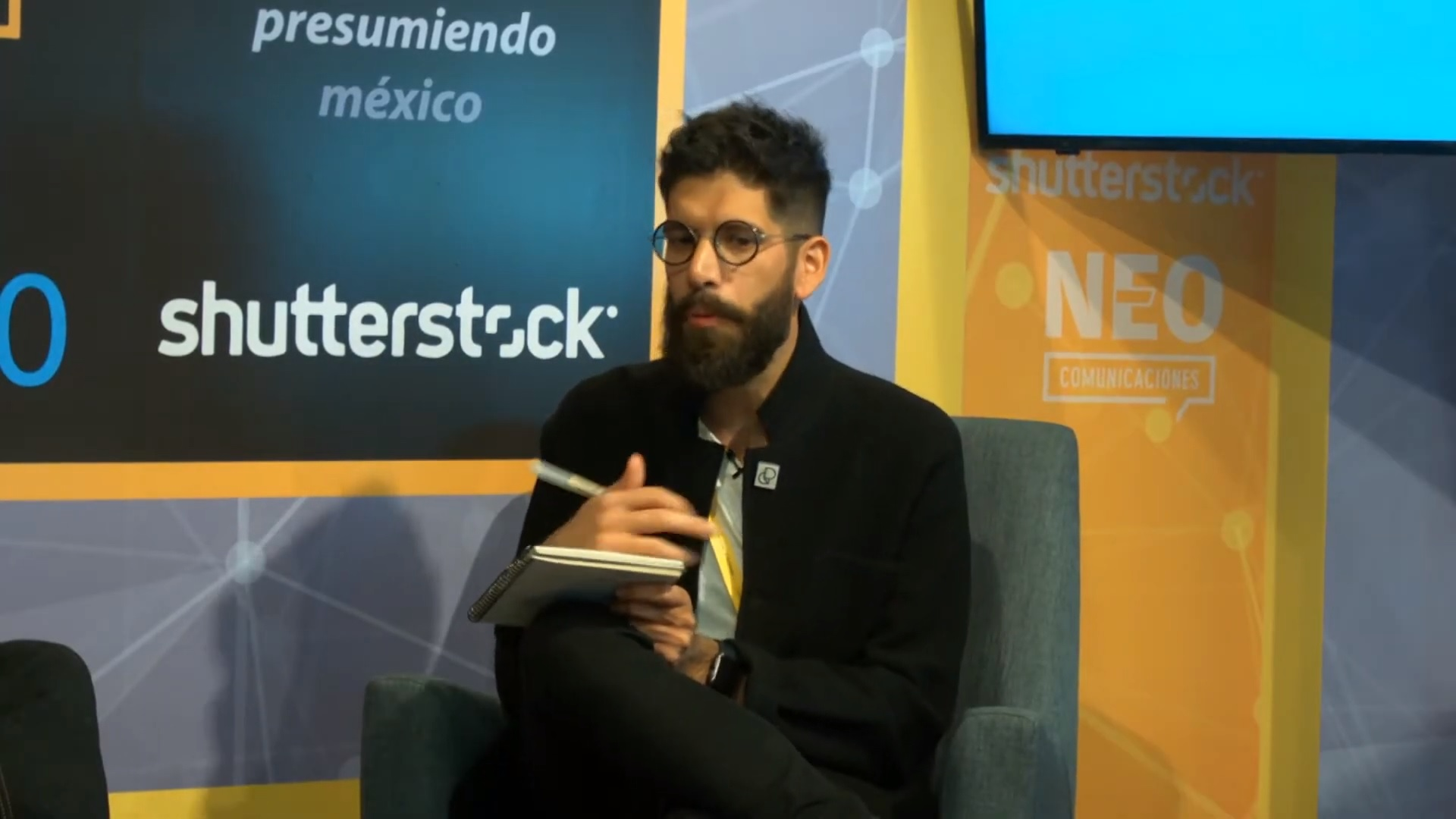 Eduardo Salles en entrevista con NEO Marketing Talk en Advertising Week 2020